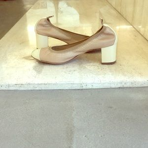 elastic low heel every day shoes